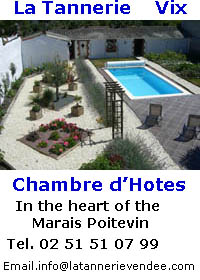 Chambre d'Hotes in the heart of the Marais Poitevin